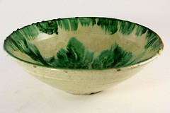14. Large 19th Century Continental Tin Glazed Bowl