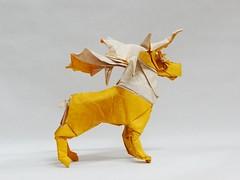Kamiya's Reindeer (Origami Wind) Tags: origami kamiyasatoshi  kawahata fumiaki