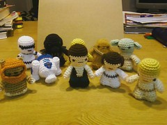 the whole gang (callie callie jump jump) Tags: set starwars stuffed crochet mini plush amigurumi geekery erinnsimon lucyravenscar calliecalliejumpjump