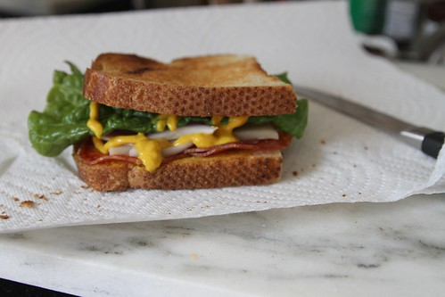 a sandwich that i didn't eat