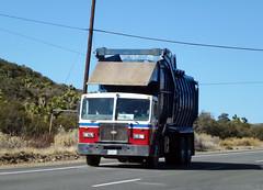 Garbage Truck (2) (Photo Nut 2011) Tags: california trash truck garbage junk desert waste refuse sanitation peterbilt garbagetruck sanbernardinocounty crr trashtruck wastedisposal crrwasteservices