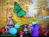 a fine specimen (judibird) Tags: bird art fairytale butterfly toy doll handmade oneofakind ooak craft dot ornament moomin muumi tovejansson collecting flutterby whimsical vintagestyle butterflynet moominvalley theonethatgotaway mumin hemulen
