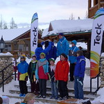 January 2012 Teck Kinder Races hosted by Kimberley North Star Racers - Sunday K2 Boys SL