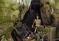 Blackbeard's Lost Treasure (Steve Taylor (Photography)) Tags: newzealand christchurch hat golf skeleton treasure treasureisland mini canterbury adventure ave pirate nz grotto southisland cave avenue 196 piratescove roydvale