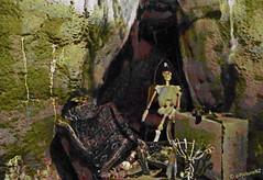 Blackbeard's Lost Treasure (Steve Taylor (Photography)) Tags: newzealand christchurch hat golf skeleton treasure treasureisland mini canterbury adventure ave pirate nz grotto southisland cave avenue 196 piratescove roydvale