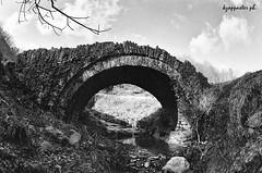 Goura (kzappaster) Tags: bridge bw film fuji pentax fisheye greece fujifilm neopan 16mm zenitar 400asa mesuper stonebridge 400cn c41 giannena epirus kmount zagori neopan400cn goura kavallari