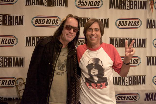 Todd Rundgren (with Breakfast With the Beatles host CHRIS CARTER)