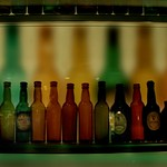 Coloured Display of Guiness Bottles (Explored)