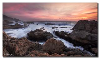 Garrapata's Sunset, Big Sur, CA