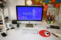 WTF?! (Helena Barker) Tags: windows apple computer macintosh mac imac bluescreenofdeath workdesk fail