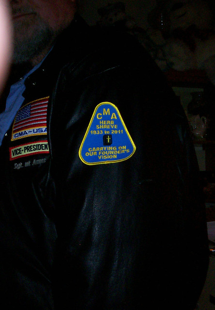 Memorial Patch for Herb Shreve the CMA Founder