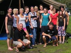 2008 Dames 2 op kamp