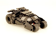 Batmobile. (psiaki) Tags: lego batman batmobile moc tumbler
