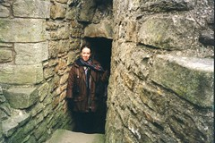 Mum at a Castle - 1990s (TempusVolat) Tags: old family woman castle film roy lady female scarf parents photo interesting scans flickr dad mr image scanner coat pat father mother picture scan mum scanned getty epson scanning gw patricia gareth perfection mumdad tempus womenarebeautiful v200 morodo epsonscanner photoscanner epsonperfection epsonperfectionv200 volat mrmorodo garethwonfor mrmorofo tempusvolat
