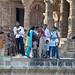 Locals enjoying the Sun Temple at Modhera, Gujarat