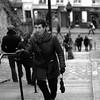 L'inconnue au parapluie (WacsiM) Tags: blackandwhite paris umbrella canon eos 50mm îledefrance picture montmartre unknown parapluie inconnue 550d 18èmearrondissement