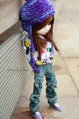 New Addison (Amarie Photography ) Tags: new york brown ny girl outfit doll body handmade jeans wig pullip poison custom addison limited edition rare haute mueca muneca obitsu