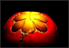 Gold 'en' Red (the_yellow) Tags: light red black lamp yellow dark gold candle shine bright diwali shining deewali happydiwali loght
