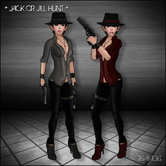 Gangster Girl for Jack or Jill Hunt (SAKIDE) Tags: joj depravednation sakide jackorjillhunt