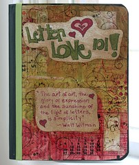 Letter Love Journal pic one (cshella) Tags: love journal 101 letter