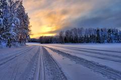 Skiing (timo_w2s) Tags: winter snow finland helsinki skiing hdr vuosaari mustavuori talosaari
