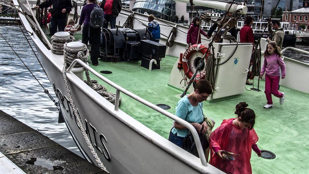 Tall Ship - Artemis - Dublin Docklands