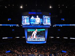 J.J. Reddick (alphatrek) Tags: downtown scoreboard washingtonwizards orlandomagic orlandoflorida jjredick amwaycenter
