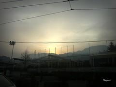 112.366 (abysofic) Tags: city morning sky sunrise skyscape cityscape traffic sarajevo project365 skenderija