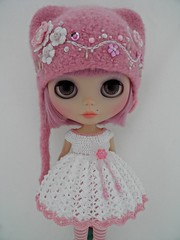 For peter-pan8 (Leshan1) Tags: hat crochet blythe leshan feltedhat dolldress blythedress dollcrochet blythecrochet leshancrochet