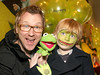 Jason & Daniel Byrne pictured at the Irish Premiere of Disney's 'The Muppets' in the Savoy cinema Dublin. Photo: Anthony Woods