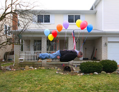 Balloon Assisted Face Down Tuesday (Notkalvin) Tags: silly goofy balloons fun weird michigan creative floating intheair upupandaway onmyface humanflight fdt facedowntuesday hfdt notkalvin noscrapednosethisweek lesspainfulthisway maybejustalittlephotoshoponthisone