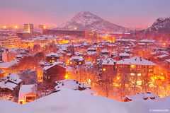 fairy tales from my town (.:: Maya ::.) Tags: city winter snow town fairy bulgaria tale plovdiv          mayaeye mayakarkalicheva