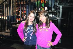 Yulissa Garcia y Brittany Garza