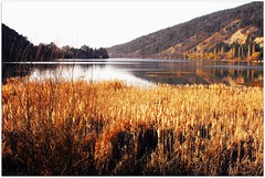The Mirror Lake -   (Stella VM) Tags: blue sky mountain lake beautiful landscape village bulgaria        pancharevo