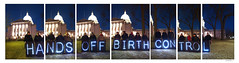 Portrait of Holders of the Light (Polyptych) (sperophotography) Tags: people night capitol madison tych overpasslightbrigade