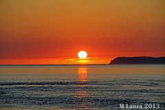 Sunrise over the Bay of Fundy (mlanza) Tags: county autumn fall sunrise dawn maine westquoddy manannew easternmost headbay newenglandgrand brunswickcanadadowneastquoddy fundywashington