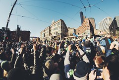 Seahawks Superbowl Parade (Daniel.Lam) Tags: china seattle fish lynch eye photography town washington nikon downtown distorted daniel super bowl victory boom fisheye beast seahawks seattleseahawks superbowl nikkor 8mm mode lam legion d80 daniellam of marshawn rokinon beastmode vsco daniellamphotography