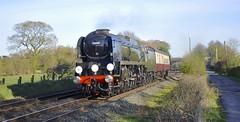 """34046 """"Braunton"""" (8A.Rail) Tags: steam chester rowton braunton westcountryclass no34046"""