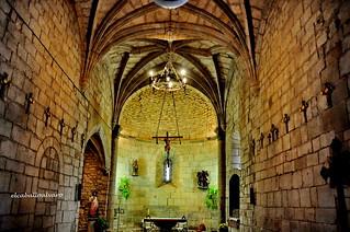 460 - Interior - Iglesia San Martín - Artáiz (Navarra) - Spain.