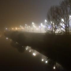 DSCF9863-2 (kuzdra) Tags: fog night nuit brouillard angers