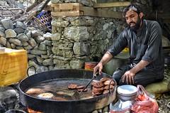 Local Vendor Preparing Kababs (Emaad Paracha) Tags: festival fort top pass mosque valley mir dir kalash shahi mardan chitral malakand lowaripass lowari terich bumburet lowaritop timergara chilimjusht