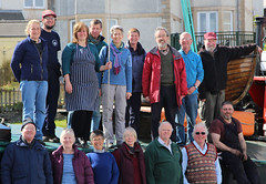 Guests and Crew (chessieboater) Tags: scotland puffer vic32