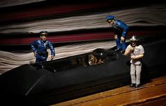 A Common Crime (John Flinchbaugh) Tags: macro closeup toys police workshop remotecontrol batteries yorkcameraclub