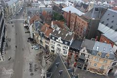 Gent (Belgium) (Maddily M.G.) Tags: houses streets architecture belgium belgique nederlands gent gand belfort pointdevue hauteur btiments beffroi belfortvangent beffroidegand
