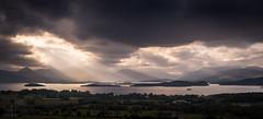 Loch Lomond (GenerationX) Tags: sunset sky lake mountains water alexandria clouds landscape islands evening scotland unitedkingdom dusk stirling scottish neil gb rays loch dumbarton benlomond trossachs lochlomond barr luss inchcailloch argyllandbute gartocharn inchconnachan inchlonaig inchmurrin duncrynehill inchmoan glenluss canon6d thedumpling