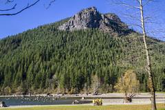 Mountain Bikers - Rattlesnake Lake (Don Thoreby) Tags: cascades rattlesnakeledge cascademountains cascaderange rattlesnakelake