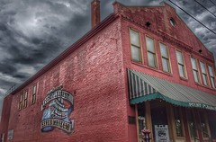 (shanemahoney27) Tags: camera red sky color building brick beautiful architecture dark photography photo sony exploring dramatic adventure explore westvirginia mindfulness hdr mothman mindful sonyalpha sonyalphaa7