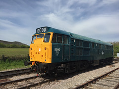 5580 Norden (daveymills31294) Tags: diesel norden railway class 31 gala swanage 5580 31162