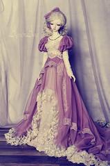 Heather Field (AyuAna) Tags: set ball design clothing doll dress little handmade ooak victorian style chloe clothes monica historical bjd dollfie edwardian jointed whiteskin littlemonica ayuana