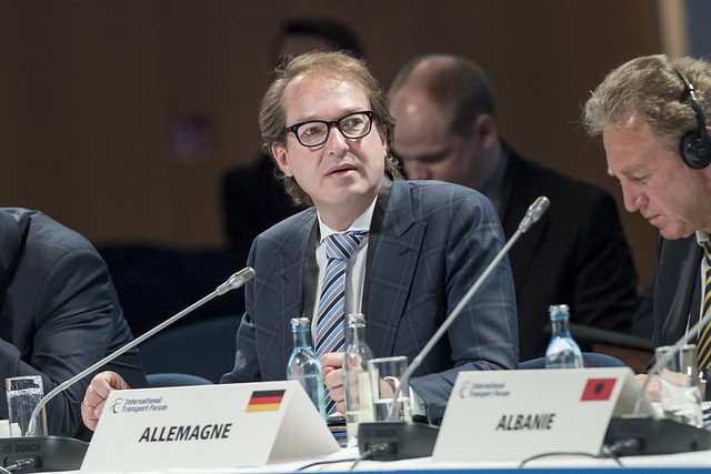 Alexander Dobrindt at the Closed Ministerial Session